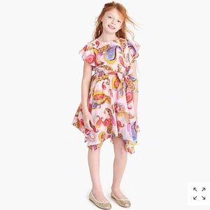 Crewcuts pink Paisley dress